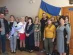 """Віталій Шаравара від імені ВО """"Батьківщина"""" особисто привітав усіх вчителів Фурсівської ОТГ"""